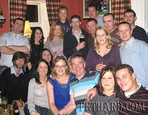 Class of 1994 and friends photographed at their class reunion held on St. Stephan's Day at McCarthy's Hotel, Fethard