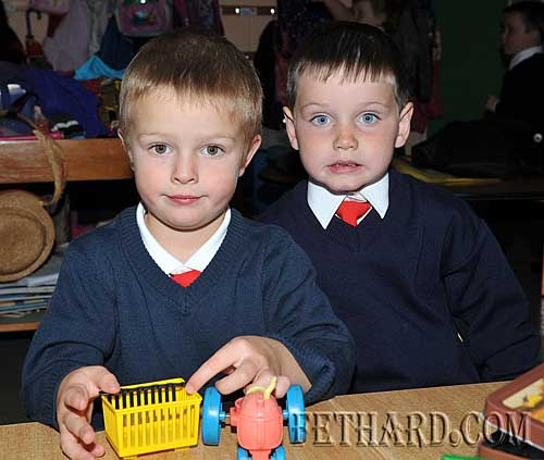 Starting school at Nano Nagle National School were L to R: Michael Flanagan and Sean Moroney.