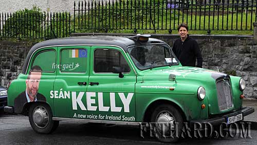 Sean Kelly's car