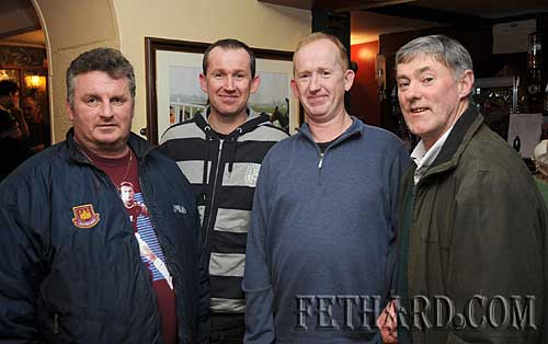 Winners of the Fethard & District Day Care Centre Table Quiz for the second year in succession at Butler's Sports Bar are L to R: Denis O'Meara, Gerry O'Dwyer, Kevin O'Dwyer and John Lacey.