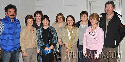 Members of the Fethard Patrician Presentation Parents Association committee photographed at their Table Quiz L to R: Jim O'Donnell, Joan Hayes, Mary Walsh, Valerie Rice (chairperson), Helena O'Shea, Rita Kenny, Anne Dwyer, Mary Healy and Willie Quigley.