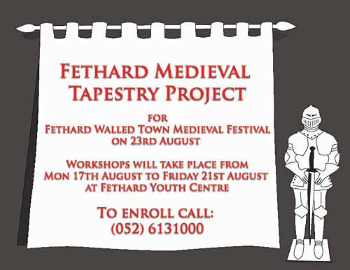 Childrens' Medieval Tapestry Workshop