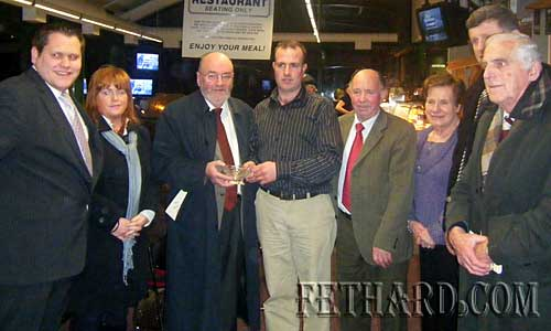 The first Annual Thurles Track Awards were presented on Saturday 31st January at Thurles Greyhound Track where David Flanagan was presented with the