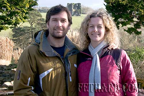 Troy Mitchell & Kathleen Healy photographed on a recent visit to Fethard from Plymouth in England. Kathleen is a daughter of Tommy Healy from The Green, Fethard.