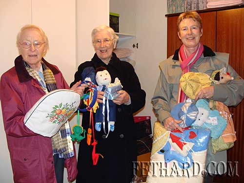 Ms Maureen Maher (right), photographed at the Good Shepherd Centre in Waterford with Sr Marie (left) and Sr. Catherine who supplied 'Sharing Fair' products for the school sale in Fethard on 24th February.