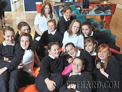 Nano Nagle 6th Class photographed on an introductory visit to Fethard Youth Café. Fethard Youth Centre are inviting sixth class pupils and their teachers to visit the centre with a view to joining up in September when pupils are eligible once they attend secondary schools.