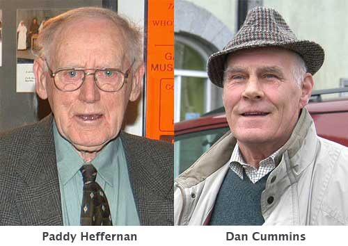 The late Dan Cummins and Paddy Heffernan