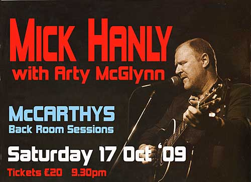 Mick Hanly will play a concert in Fethard to coincide with the release of his new album 'Mick Hanly Collected'.