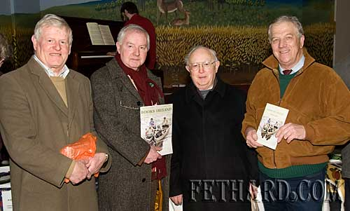 Photographed at the book fair L to R: Tom Nealon, Michael Coady, Liam O Duibhir and Larry O'Gorman