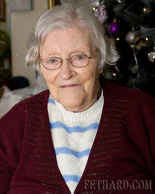 Hannah Leahy who celebrates her 90th birthday on this Friday 19th March.