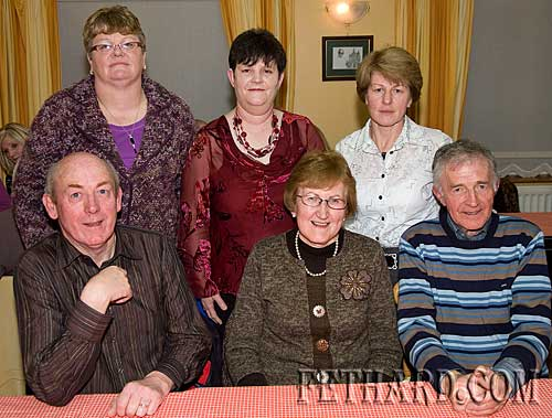 Photographed at the Augustinian Abbey helpers party are Back L to R: Josie Fitzgerald, Joan Halpin, Mary Healy. Front L to R: John Fogarty, MArgaret Doocey and Vincent Doocey