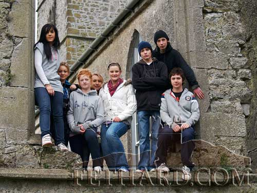 Pictured above are participants who took part in the photographic art workshop held in the Fethard Youth Centre.