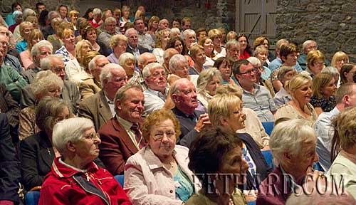 A section of the large crowd photographed at the launch of Michael O'Donnell's book 'Fethard, Co. Tipperary 1200-2000' in the Abymill Theatre