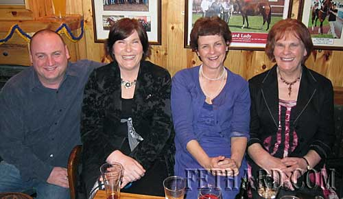 Happy birthday to Brian Sheehy, Garrinch, Fethard, who celebrated his 40th birthday last weekend in Butler's Sports Bar. Brian is photographed above with family members.