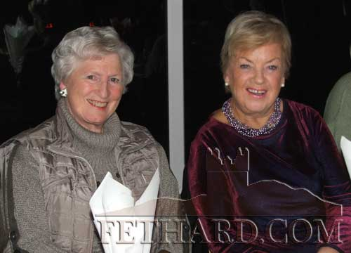 Photographed at Fethard Bridge Club Christmas Party are L to R: Kay St. John and Rita Kane
