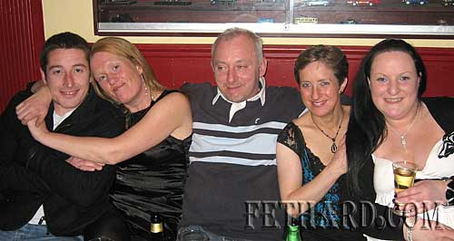 Photographed at the Jules 'Neil Diamond Tribute' gig at Butlers Bar were L to R: Philip Croke, Helen Murray, Noel Maher, Helena Fanning and Pamela Daly.