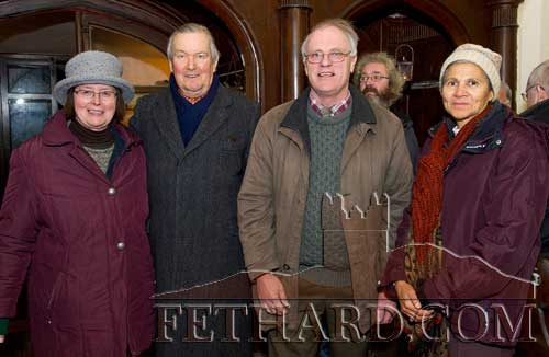 Photographed at the Carol Service held at Holy Trinity Church of Ireland in Fethard are L to R: Jane Grubb, Christopher Horsman, Louis Grubb and Mary McDonald.
