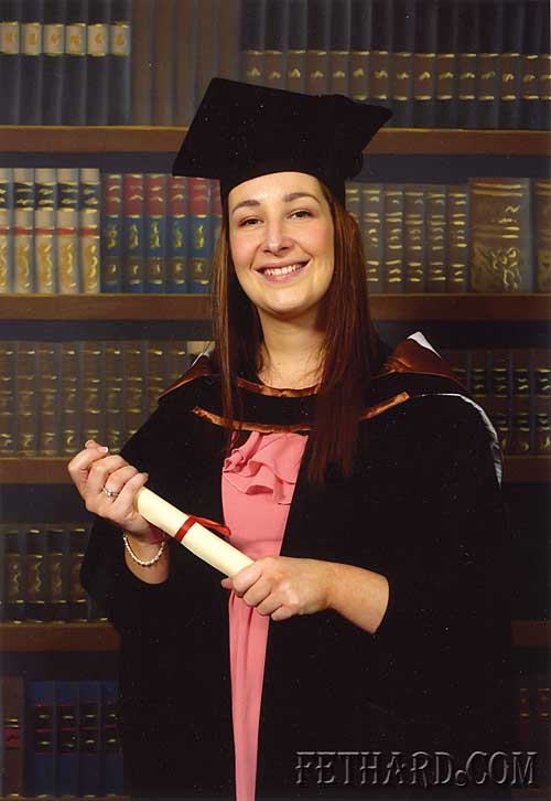Caroline Croke, St. Patrick's Place, Fethard, who recently graduated from WIT with a Bachelor of Science (Honours) Degree in General Nursing.