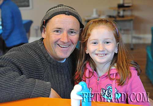Brendan Keating and his daughter Holly photographed at the Nano Nagle's 'A Taste of the Orient' held at Fethard Youth Centre as part of their Challenge to Change project.