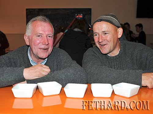 Photographed at Nano Nagle's 'A Taste of the Orient' held at Fethard Youth Centre as part of their Challenge to Change project are L to R: T.J. Prendergast and Brendan Keating