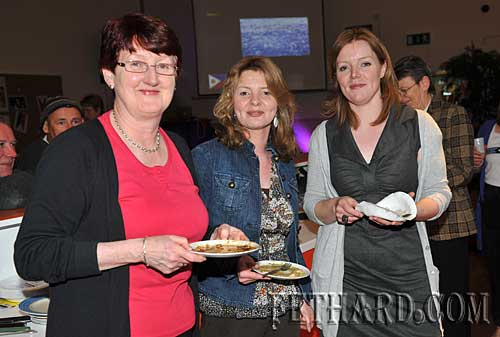 Photographed at Nano Nagle's 'A Taste of the Orient' held at Fethard Youth Centre as part of their Challenge to Change project are L to R: Gemma Burke, Ann Marie Harty and Lorraine de Lacey