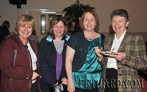 Photographed at Nano Nagle's 'A Taste of the Orient' held at Fethard Youth Centre as part of their Challenge to Change project are L to R: Patricia Treacy, Hillary O'Meara, Kate Horan and Sr. Winnie Kirwan