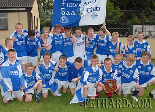 Fethard Under-14 team, county champions following their win over Lorrha & Dorrha in Templemore last Saturday 12th June