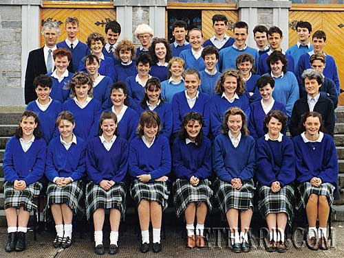 If you are in this picture or should have been in this picture (there was an issue with uniforms on the day!), then you should be at our class reunion in The Well, Burke St on Friday 20th August at 9pm. All are welcome and feel free to bring any more embarrassing pictures for entertainment value. For further information contact Pamela Morrissey on pamodonel@gmail.com or Niamh Kenny on niamhk2002@yahoo.co.uk.
