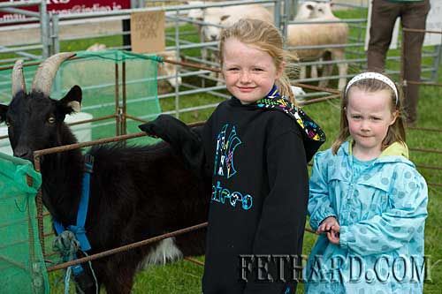 Photographed at the Fethard Macra Field Day at Fethard Community Field on Sunday last. L to R: Emily and Carrie Davey