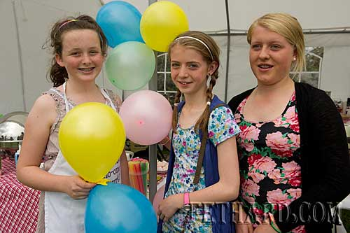 Photographed at Fethard Community Family Field Day L to R: Ava Meagher, Aoife Gahan and Orla Gahan.