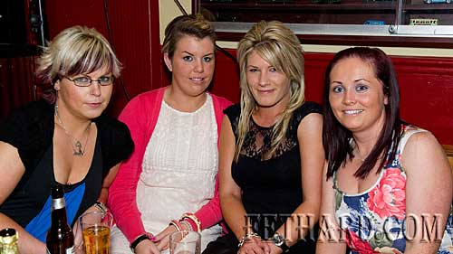 Photographed at the fundraiser for the Paul Barrett Fund in Butler's Sports Bar are L to R: Gail Doyle, Orla Murphy, Róisin Blake and Melissa Skehan.