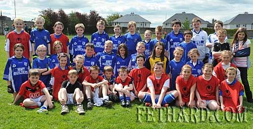 Boys and girls who took part in the Fethard GAA Club's La na gClub celebrations on Sunday 9th May in the GAA Field