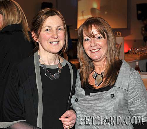 Helping at the 'Girls Night Out' at Fethard Youth Centre were L to R: Michelle Barry and Theresa Ryan from Ryan Design