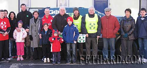 Group photographed at the start of the rescheduled 'Goal Mile' held in Fethard on Sunday 3rd January.