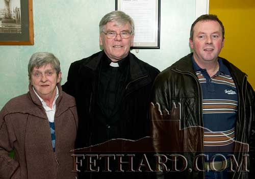 Photographed at the AGM of Fethard GAA Club were L to R: Tossie Lawton, Fr. Tom Breen P.P. and Andy O'Donovan.