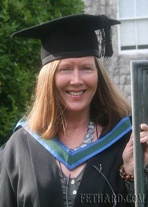 June Kennedy-Ahessy of Burke Street, Fethard who was recently conferred with a first class honours MA degree in Applied Christian Spirituality