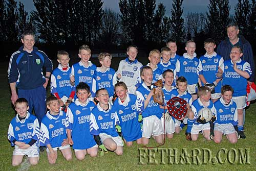 South Champions, Fethard under-12 football team photographed following their win over Grange in the south final played in Cloneen.