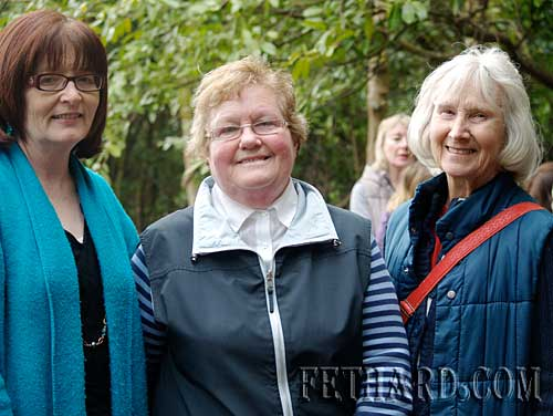 Enjoying the day out at Kilcooley Abbey with Fethard Historical Society L to R: Mary Hanrahan, Anne Gleeson and Dot Gibson.