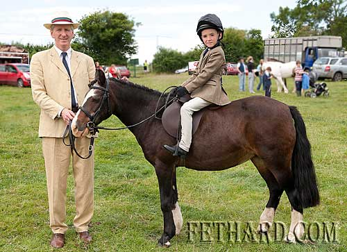 L to R: Frank and Richard Quirke photographed at Killusty Pony Show on 3rd July