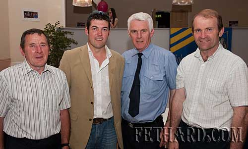 L to R: Joe Keane, Cllr. Jimmy O'Brien, Sgt. Kevin Corry and Jimmy Horan.