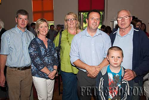 Photographed at the official opening of Fethard Youth Centre are L to R: Pat O'Donnell, Margaret O'Donnell, Suzanna Manton, Andrew O'Donovan, Jim Murphy with nephew Ben