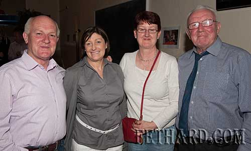 L to R: Gerry Fogarty, Mary Fogarty, Gemma Burke and Billy McLellan.