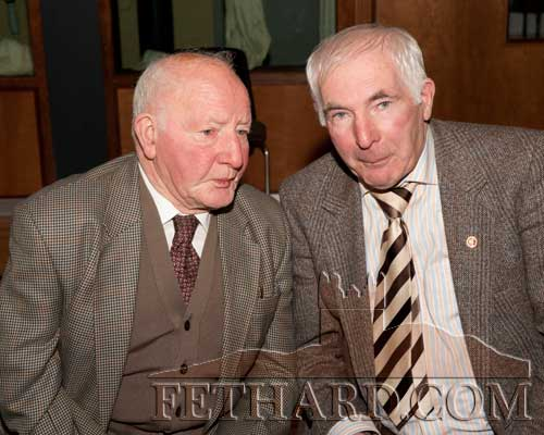 Photographed at the Moyglass Christmas Party are L to R: Jimmy Walsh and Denis Ryan