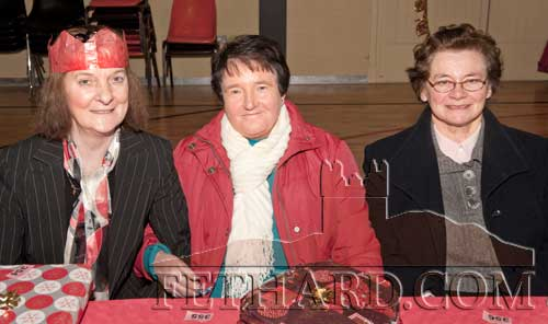 Photographed at the Moyglass Christmas Party are L to R: Lizzie Curran, Monica Keyes and Madge Fogarty
