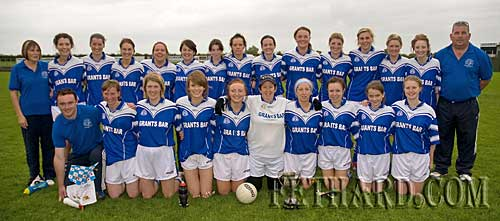 On Sunday 12th September 2010, Fethard's Junior Ladies were crowned County Champions, retaining the title they won in 2009, and adding to the League title they won earlier this year. They beat Ballyporeen in a thrilling final on a score of Fethard 1-08 To Ballyporeen 1-07. Pictured Back L to R: Maureen McCarthy, Emily Noonan, Marie Holohan, Fiona Conway, Sharon O'Meara, Bernadette O'Meara, Amy Pollard, Sandra Maher, Marion Harrington, Edel Fitzgerald, Sarah Smyth, Elaine Kennedy, Audrey Conway, Annie Prout, Tom McCarthy. Front L to R: Gary Hallinan, Sandra Spillane, Kay Ryan, Lucy Butler, Rachel Prout, Anita Manton, Norah O'Meara, Mary Jane Kearney, Jessie McCarthy, Emma Wilson.