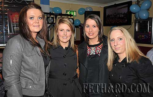 Photographed at Fethard Ladies Football Medal Presentation Night at Butlers Bar are L to R: Edel Fitzgerald, Audrey Conway, Marie Holohan and Norah O'Meara.