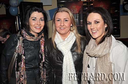 Photographed at Fethard Ladies Football Medal Presentation Night at Butlers Bar are L to R: Emily Noonan, Jennifer Fogarty and Fiona Conway.