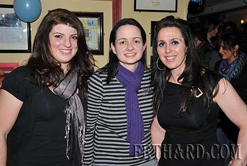 Photographed at Fethard Ladies Football Medal Presentation Night at Butlers Bar are L to R: Sarah Smyth, Marion Harrington and Mia Treacy.