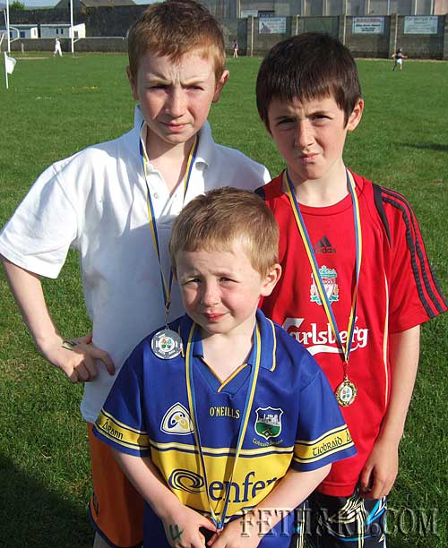 The Coen brothers, Luke Ben and Ethan from Killusty, photographed at Fethard and Killusty Community Games athletics.