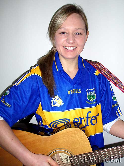 Michelle Skehan who competes in RTE's All Ireland Talent show on 24th January